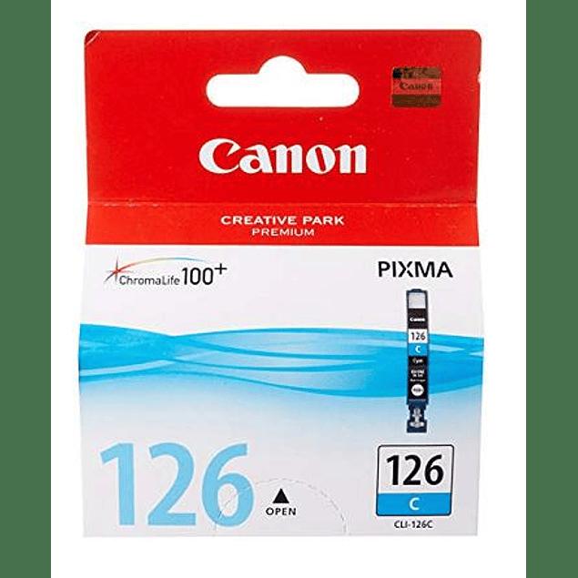 Tinta Canon CLI-126 CYAN