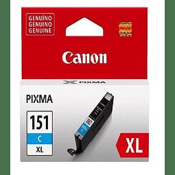 Tinta Canon CLI-151 XL CYAN
