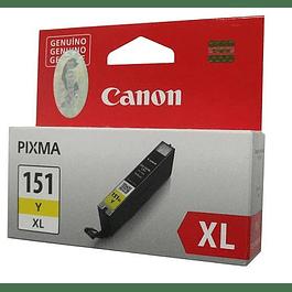 Tinta Canon CLI-151 XL YELLOW