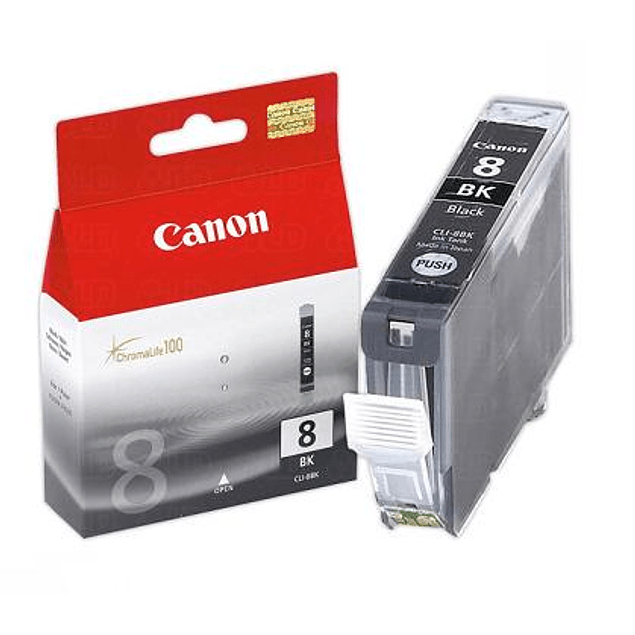 Tinta Canon CLI-8 BK