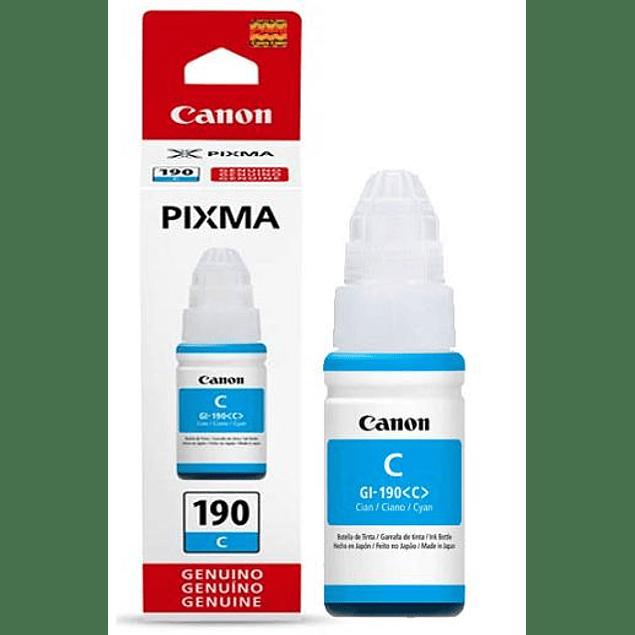 Tinta Canon GI-190 CYAN
