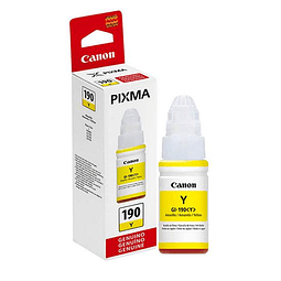 Tinta Canon GI-190 YELLOW