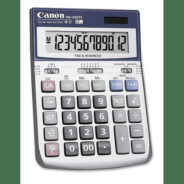 Calculadoras Canon HS-1200TS