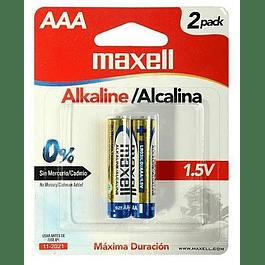 Baterías AAA Maxell