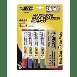 Set de marcadores y borradores BIC MPBE-4B