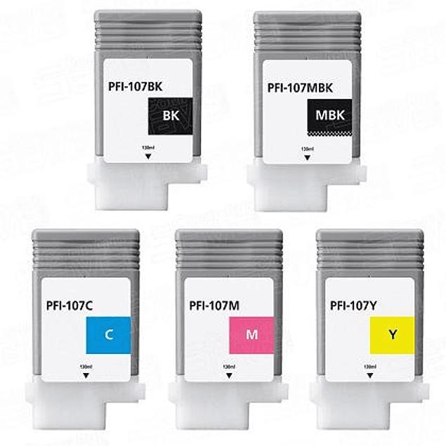 Tintas Canon PFI-107