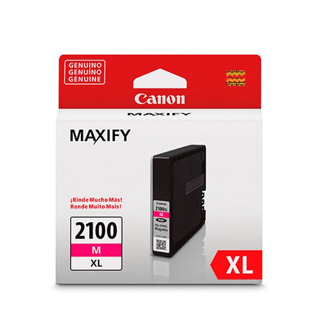 Tintas Canon PGI-2100 XL MAGENTA