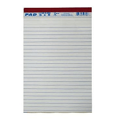 Libretas Rayadas Blancas 5x8