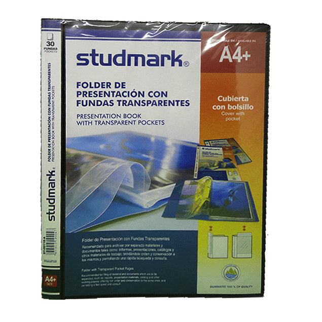 Folder Studmark con Fundas ST-00118-A