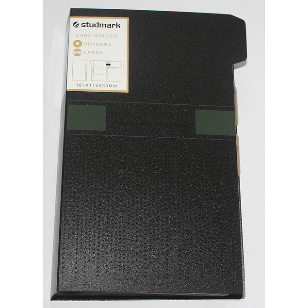 Portatarjetas Studmark ST-NCH-242A