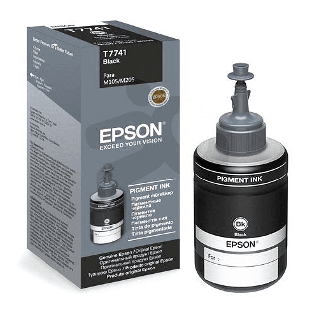Tinta Epson T774120 BK