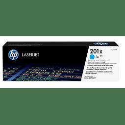 Toner HP CF401X 201 C XL