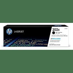 Toner HP CF500X 202X BK Alto Rendimiento