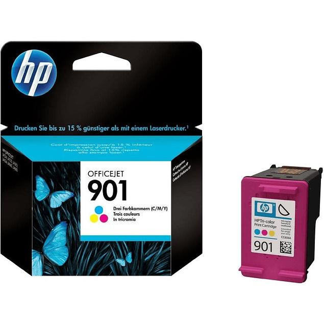 Tinta HP CC656 901 Color