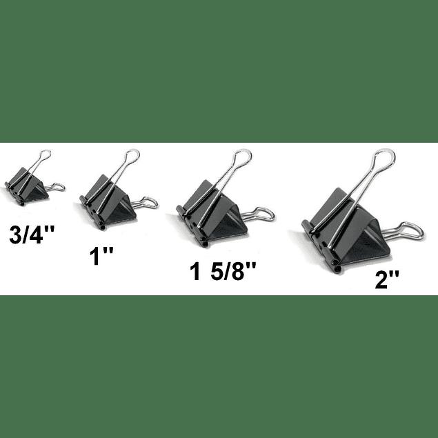 """Binder clip Studmark 1 5/8"""""""