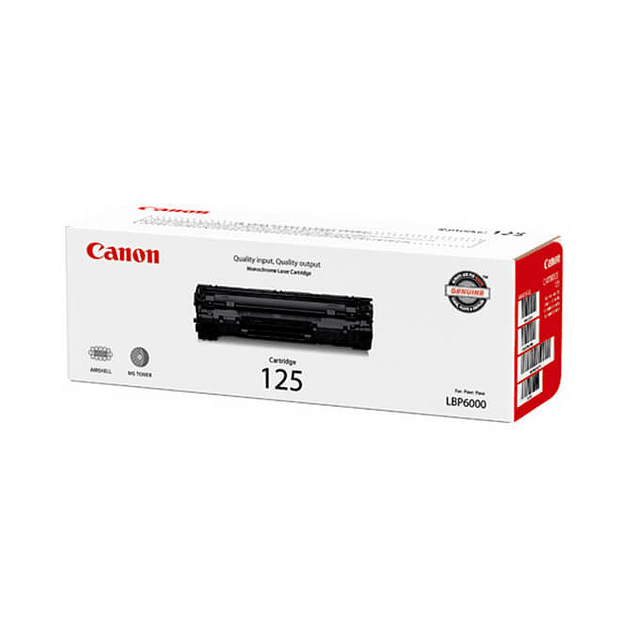 Toner Canon 125 BK