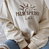 PALM SPRINGS HOODIE-OVERSIZE POLO BEIGE