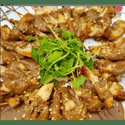 Brochetas de pollo Satay (25un)