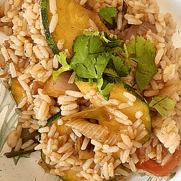 Arroz chaufa vegetariano 1.2kg