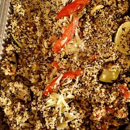 Quinotto con vegetales asados 1.2kg