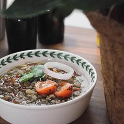 Lentejas al curry con quinoa familiar 2kg
