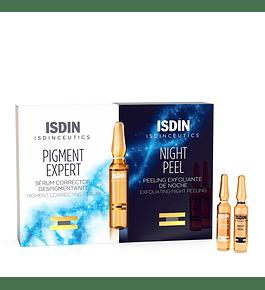 ISDIN PIGMENT EXPERT/NIGHT PEEL -  Despigmentante efecto peeling x 20 amp