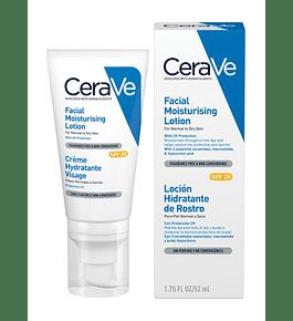 CeraVe - Loción Hidratante de Rostro con FPS 25