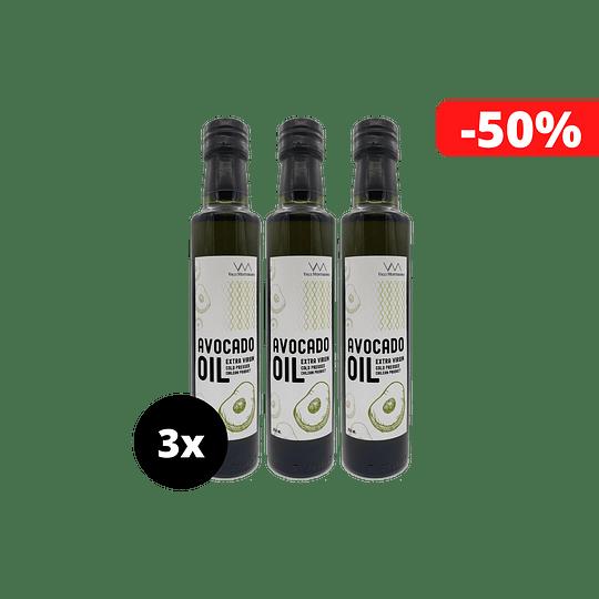3 x Aceite Premium de Palta 250ml