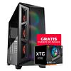Gabinete Gamer Cougar DarkBlader X5 RGB + FUENTE DE PODER XTC 550 DE REGALO