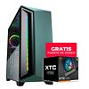 Gabinete Gamer Cougar DarkBlader X7 Mid Green + FUENTE DE PODER XTC 550 DE REGALO