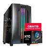 Gabinete Gamer Cougar Gemini M IRON GRAY RGB + FUENTE DE PODER XTC 550 DE REGALO