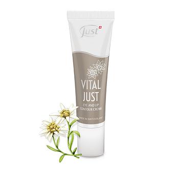 VITAL JUST Crema para contorno de ojos y labios | 30ml