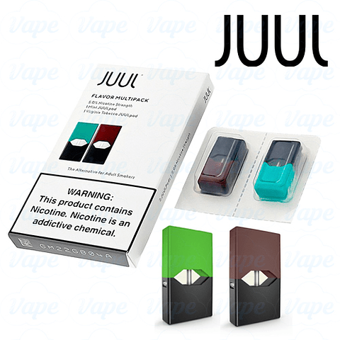 Juul Pack 2 Pods - Mint/Virginia tobacco 5%