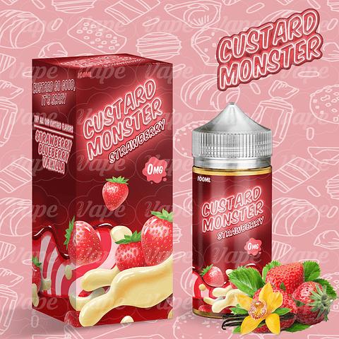 Custard Monster - Strawberry 100ML