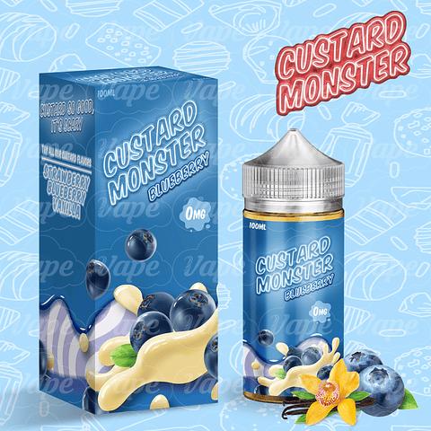 Custard Monster - Blueberry 100ML