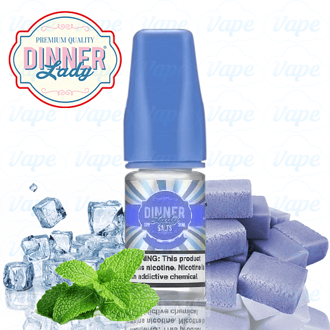 Dinner Lady Salt - Bubble Gum Ice 30ml