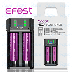 Cargador Efest MEGA Charger