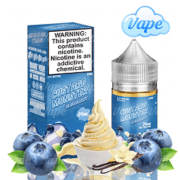 Custard Monster Salt - Blueberry 30ml