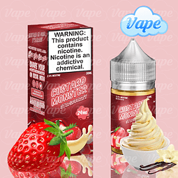 Custard Monster Salt - Strawberry 30ML