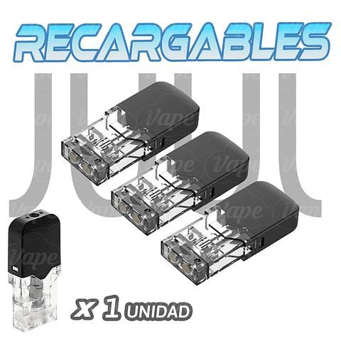 Cartucho Recargable JUUL Compatible Vacío 1un