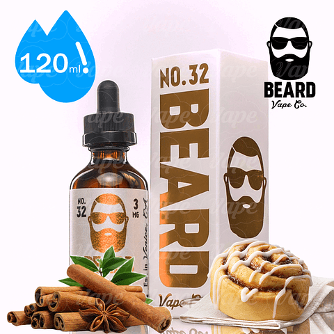 Beard No 32 Canela Cinnamon Regular 120ml