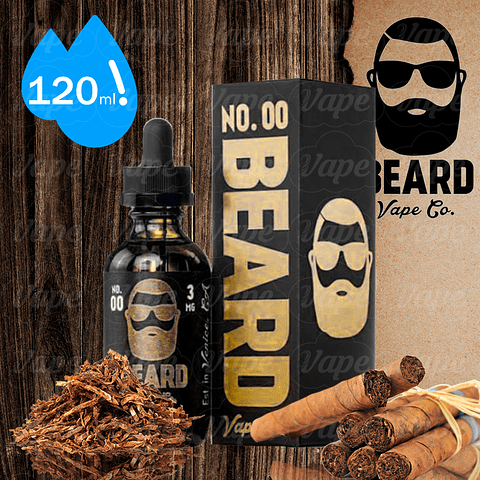 Beard No 00 Tobaccoccino Regular 120ml