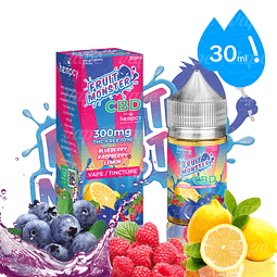 Fruit Monster Blueberry Raspberry Lemons CBD 30ml 300mg