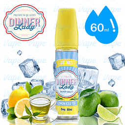 Dinner Lady - Lemon Iced Tea 60ml Regular