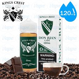 Don Juan Cafe - Kings Crest Regular 120ml