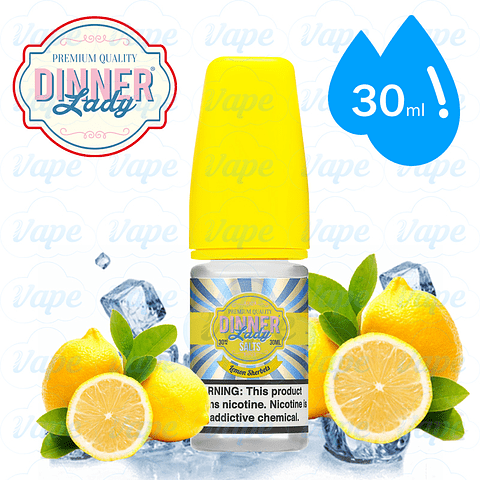 Dinner Lady Salts - Lemon Sherbets Ice 30ml