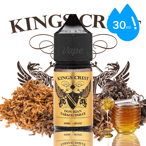 Don Juan Tabaco Dulce - Kings Crest Salt 30ml