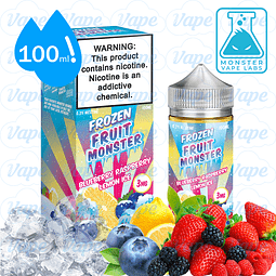 Frozen Fruit Monster 100ml - Blueberry Raspberry Lemon