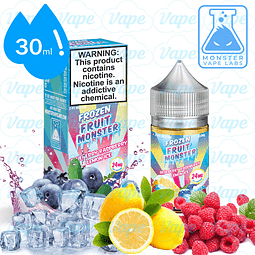 Frozen Fruit Monster Salt 30ml - Blue Rasp Lemon 48mg