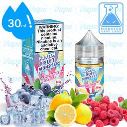 Frozen Fruit Monster Salt 30ml - Blueberry Raspberry Lemon